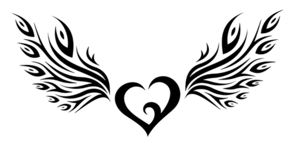Tribal Heart With Banner legacy | Life O...